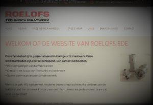 Nieuwe website Roelofs Technisch Maatwerk